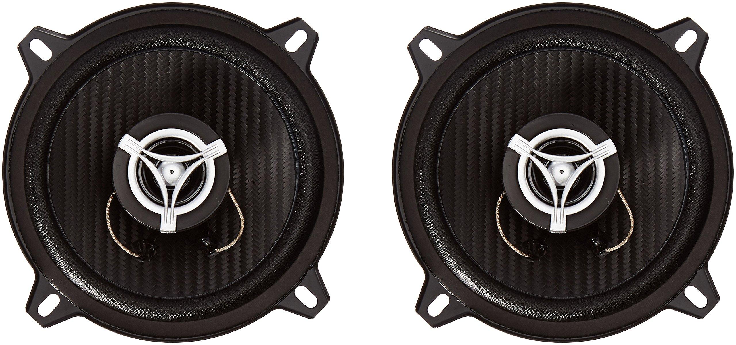 Power Acoustik EF-52 Edge Series 300 Watt 5.25x2033; 2-Way Coaxial Speakers