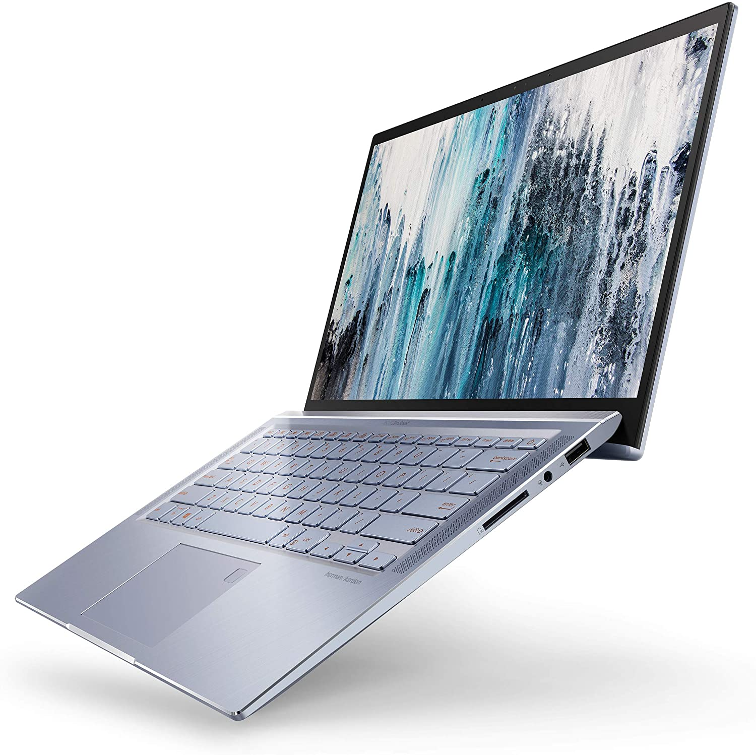 The Asus Zenbook 14 travel product recommended by Dale Johnson on Lifney.