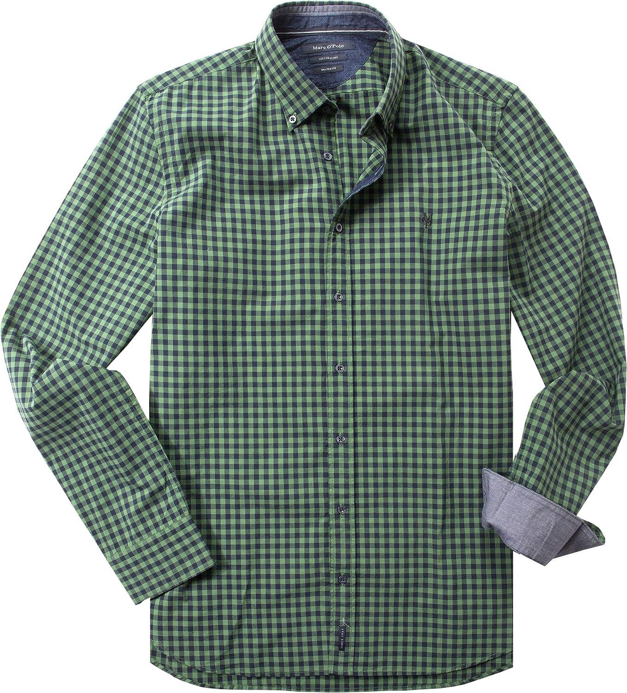 Marc OPolo 627102842282 - Camisa de manga larga para hombre ...