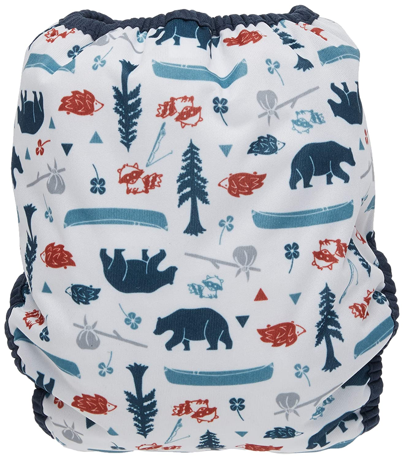 Fin Size 1 6-18 lbs Thirsties Duo Wrap Diaper Cover with Snaps