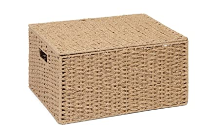 Merveilleux Image Unavailable. Image Not Available For. Color: ARPAN Natural Paper Rope  Storage Basket ...