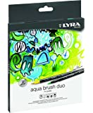 Lyra L6521120 - Astuccio 12 Pennarelli Aquabrush Duo