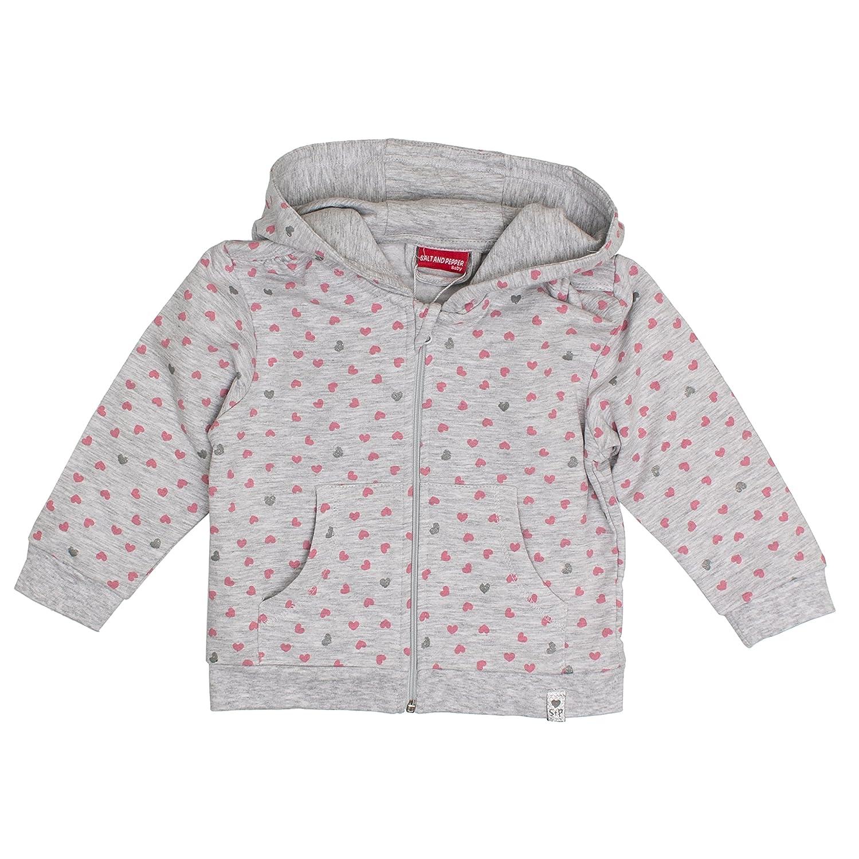 SALT AND PEPPER Baby-Mädchen Jacke Nb Jacket Lovely Allover Kap 75218218