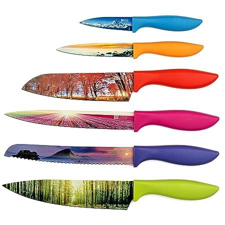 Landscape Kitchen Knife Set