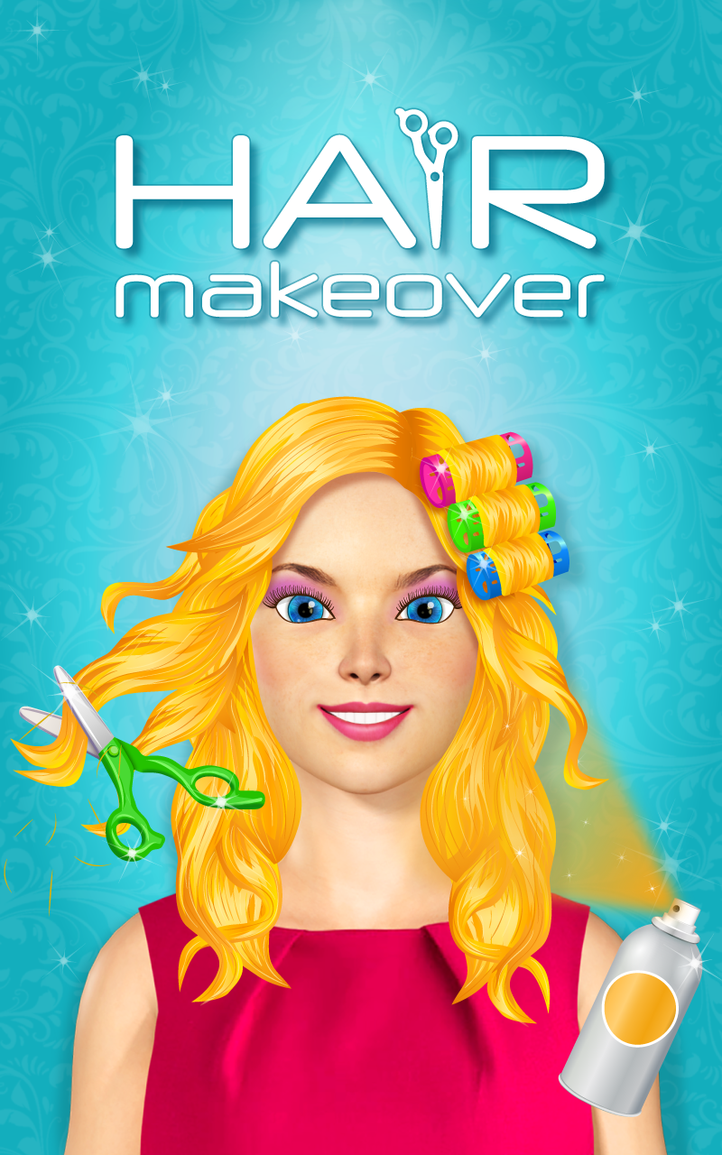 Hair makeover salon games for girls import it all - Beauty salon makeover games ...