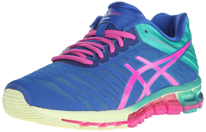 ASICS Women's Gel-Quantum 180 Running Shoe B00ZDUKIF4 5 B(M) US|Snorkle Blue/Pink Glow/Peacock Green