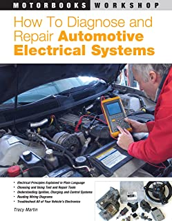 automotive wiring and electrical systems workbench series tony rh amazon com race car wiring books car electrical wiring books