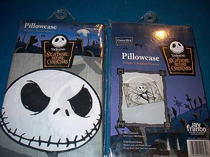 Amazon Com The Nightmare Before Christmas Pillowcase Sham Pillow