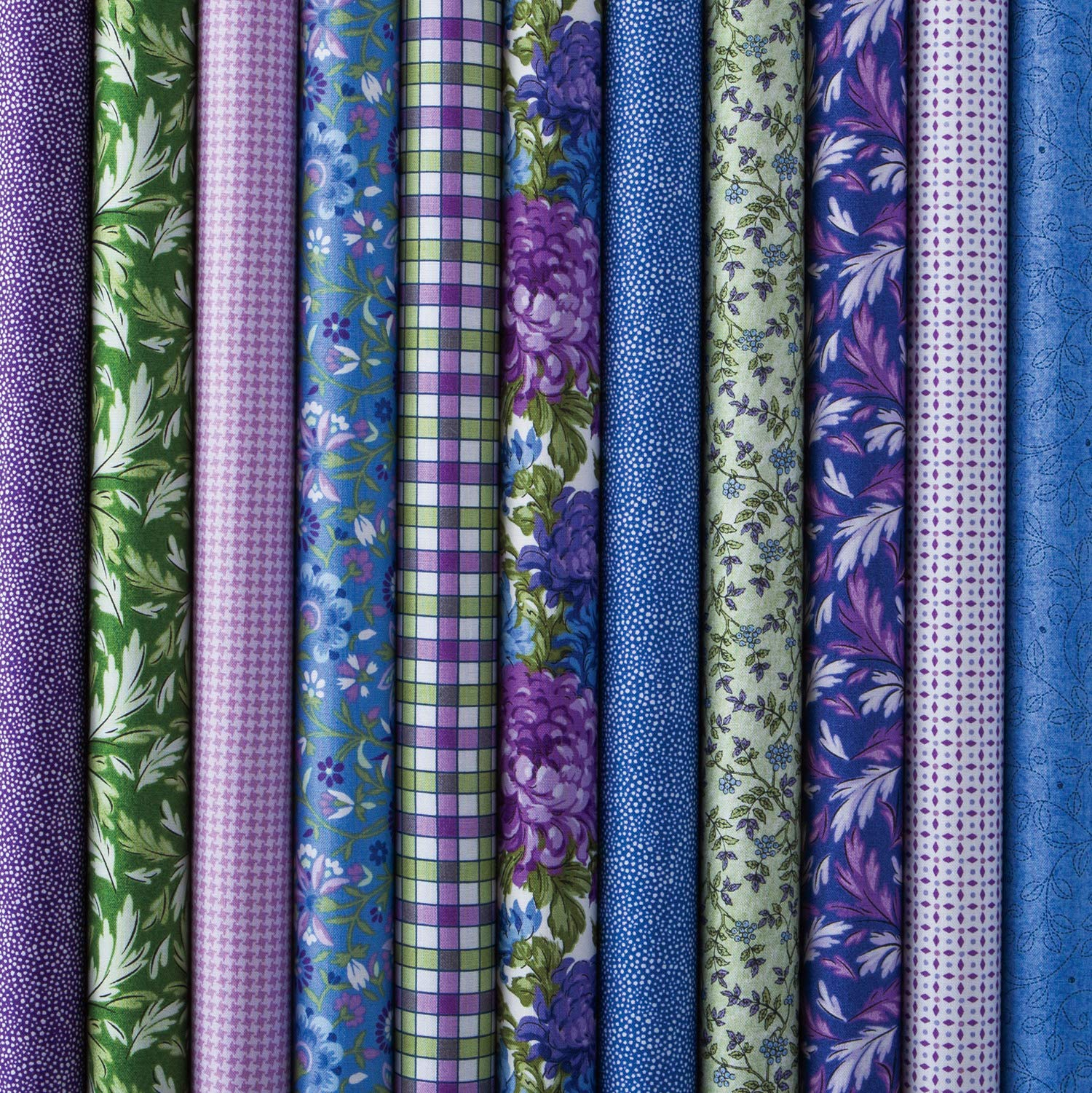 Connecting Threads Print Collection Precut Quilting Fabric Bundle (Mum's Garden - Fat Quarters) by Connecting Threads (Image #7)