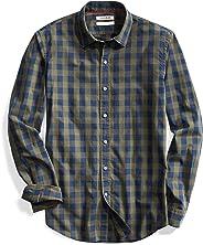 Goodthreads Men's Slim-Fit Long-Sleeve Gingham Shirt