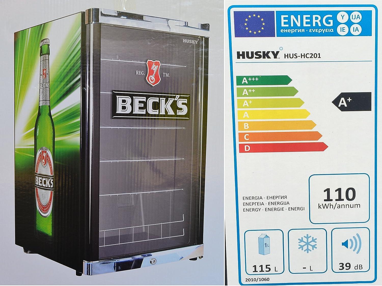 Husky HUS-HC 201 Highcube High Cube Flaschenkühlschrank Becks / A+ ...