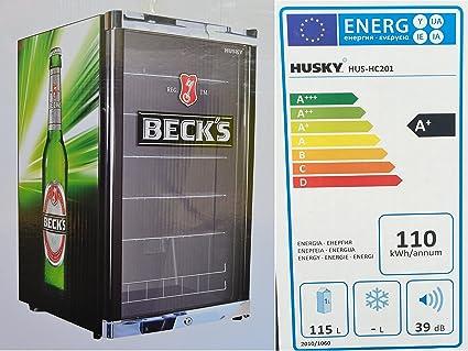 Mini Kühlschrank Becks : Husky hus hc highcube high cube flaschenkühlschrank becks a