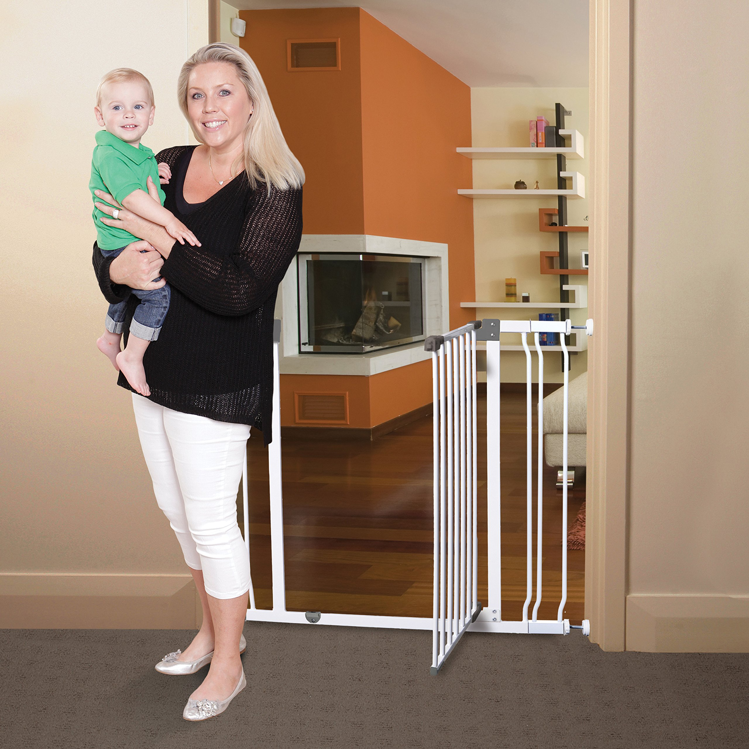 Dreambaby Liberty Tall Auto Close Security Gate w/ 3.5'' Extension by Dreambaby (Image #3)