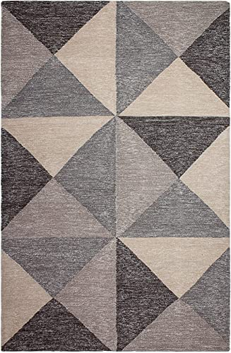 Fab Habitat Flatweave Recycled Cotton Area Rug
