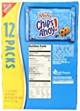 Nabisco Chips Ahoy! Mini Cookies, 1 Ounce, 12 Count