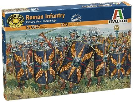 Amazon.com: Italeri – 1: 72 Cesars Wars – Maqueta Infantería ...