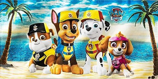 Official PAW PATROL Kids GYM BAG /& BEACH TOWEL SET Swimming Pool Sport Bath Gift