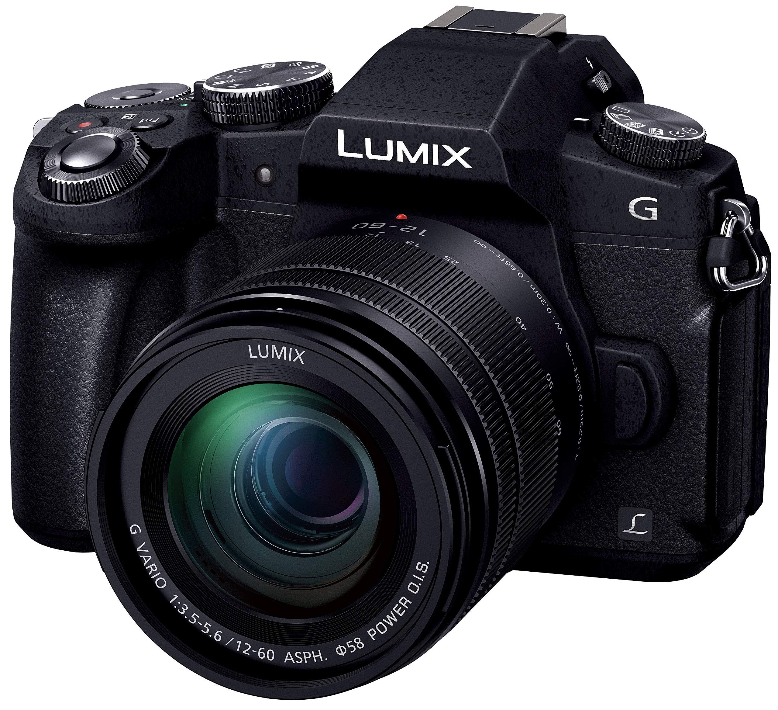 パナソニック ミラーレス一眼カメラ ルミックス G8 標準ズームレンズキット 1600万画素 ブラック DMC-G8M-K product image