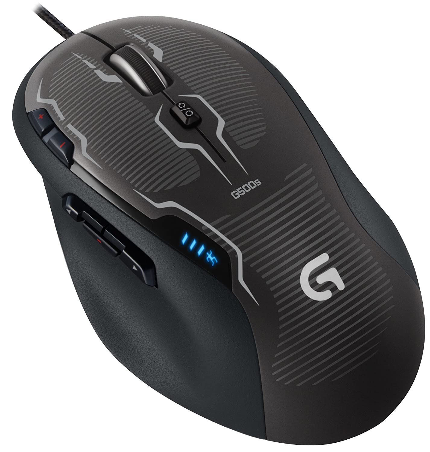 Logitech G500s Laser Gaming Mouse with Adjustable Weight Tuning