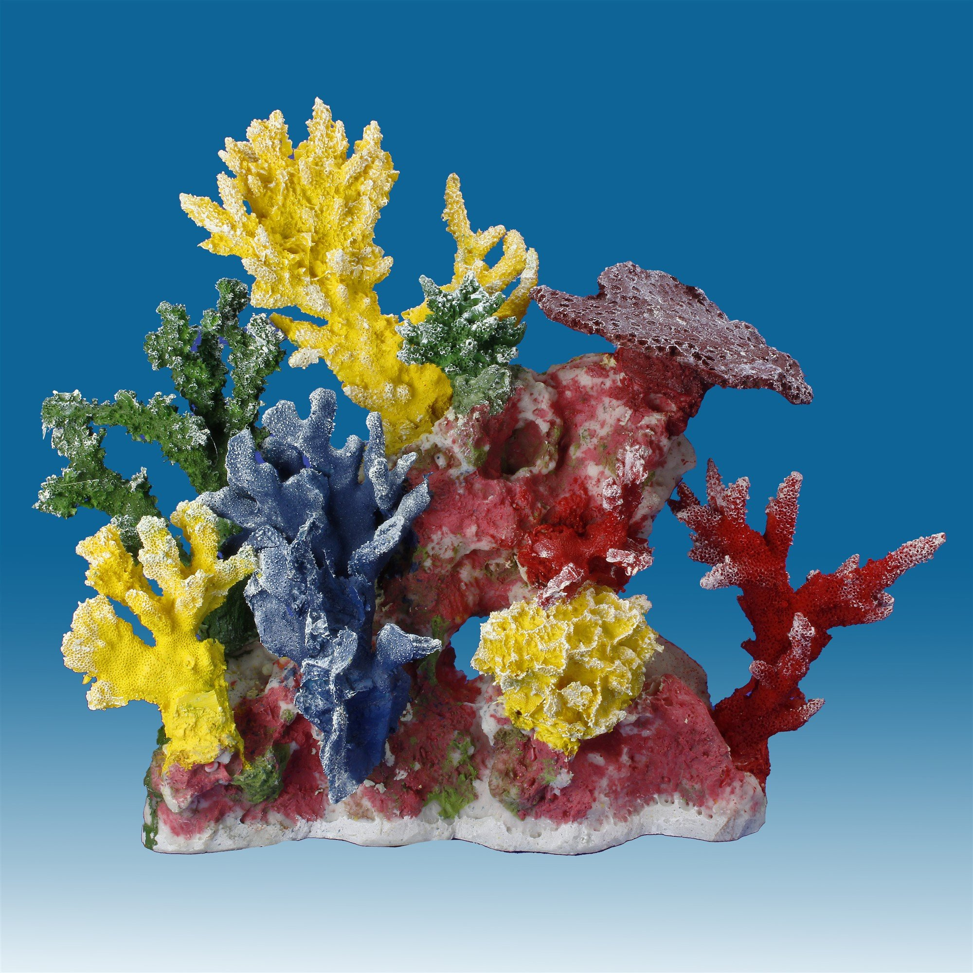 Instant Reef DM055 Fish Tank Decorations, Aquarium Décor Ornament, Fake Coral Reef Tank for Saltwater Marine and Freshwater Fish