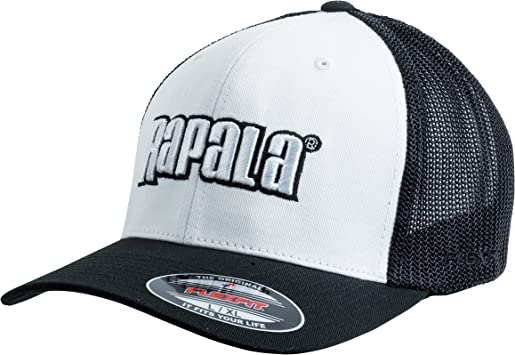 Rapala 2016-Gorra, color negro y blanco: Amazon.es: Deportes y ...