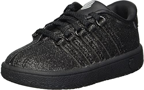 K Swiss Classic VN Hi Sparkle 23343913 Infants Toddler Baby Girls Shoes Sizes