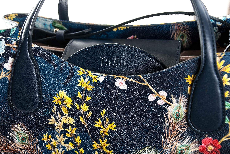 Martini Large Botanical Handbag Alviero Navy Night Borsa Geo zLqMVpSUG f167b4721c9