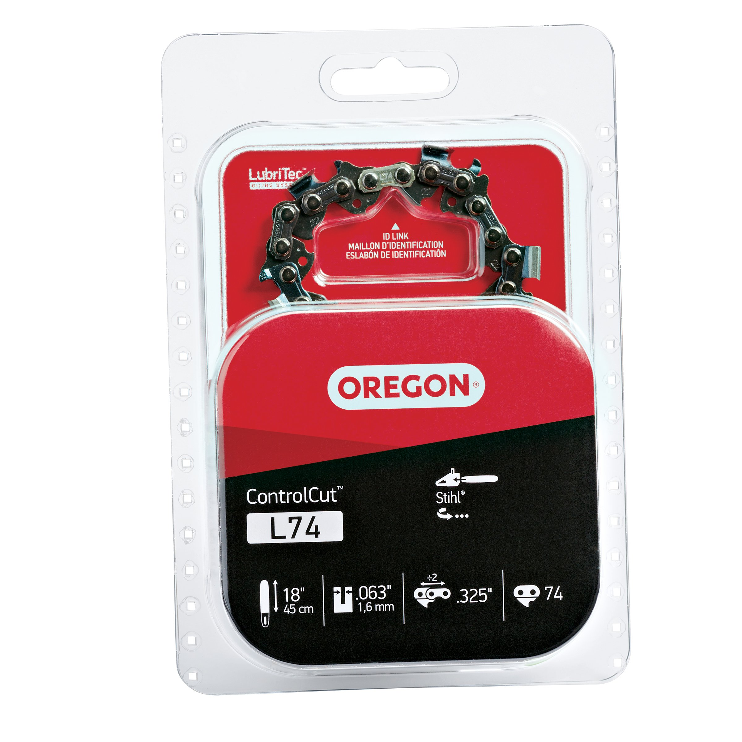 Oregon L74 ControlCut 18-Inch Chainsaw Chain Fits Stihl by Oregon