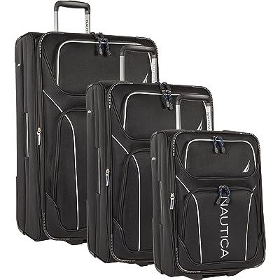 Nautica 3 Piece Luggage Set-Lightweight