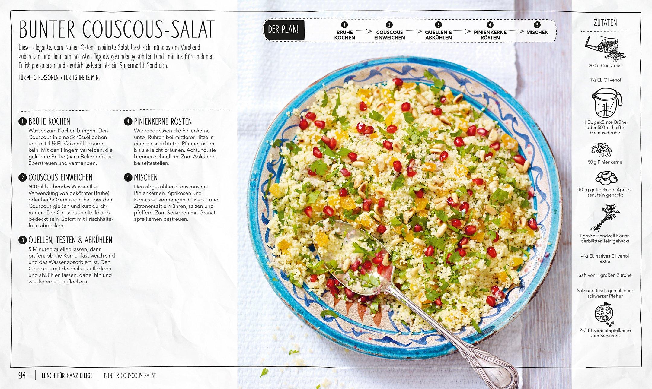 Die Keine-Zeit-zu-Kochen-Küche: 100 blitzschnelle Rezepte von ...