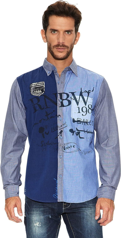 Desigual Camisa Hombre: Amazon.es: Ropa y accesorios