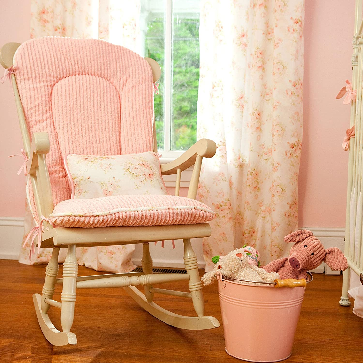 Amazon Carousel Designs Shabby Chenille Rocking Chair Pad Baby