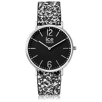 d4aa84d896b7e Ice-Watch - City Madame Black - Montre Noire pour Femme avec Bracelet en  Nylon