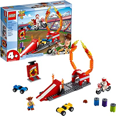 LEGO | Disney Pixar's Toy Story Duke Caboom's Stunt Show 10767 Building Kit (120 Pieces): Toys & Games