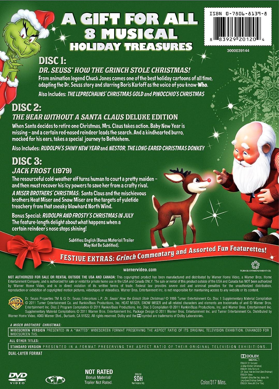 Amazon.com: Santa\'s Magical Stories (Dr. Seuss\' How the Grinch Stole ...