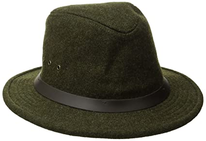 9e71d71a13296 Image Unavailable. Image not available for. Color  Filson Unisex Wool  Packer Hat Forest Green SM