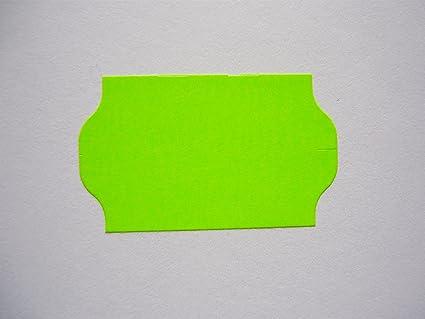 Etiquetas Adhesivas Para – Etiquetadora (26 x 16 mm Fluor verde (39.600.