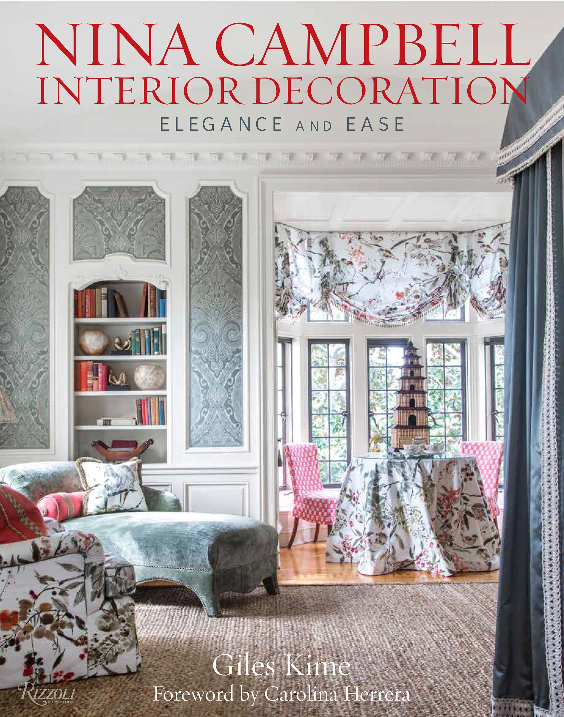 Nina campbell interior decoration elegance and ease hardcover september 11 2018