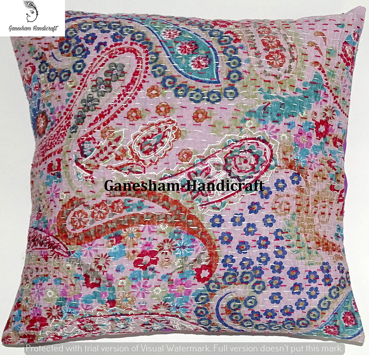 A beautifully handmade pillowcase from