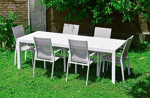 اسطوانة سرعة ملبورن Set Tavolo E Sedie Da Giardino In Alluminio Amazon A 1inspection Com