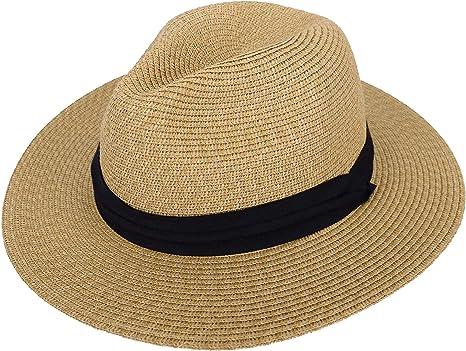Natural Wide Brim Straw Hat