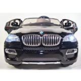 KIDS-CAR NEW Licensed BMW-X6 BATTERY12v Total. MP3. ELECTRIC Childrens CAR. WITH REMOTE CONTROL. RIDE ON TOY for boys and girls from 3 to 7 years old. CAR Power wheels to RIDE.