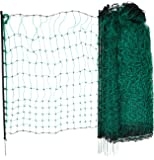 KERBL Filet Simple Pointe pour Élevage Volaille Vert 50 m x 112 cm