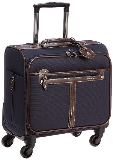 1573a8b743 Amazon   [アマンダベラン] AMANDA BELLAN スーツケース CA 横型 ソフトキャリー 約23L 約3.2kg 機内持込可  専用カバー付 43 cm CA-横型 ネイビー   スーツケース