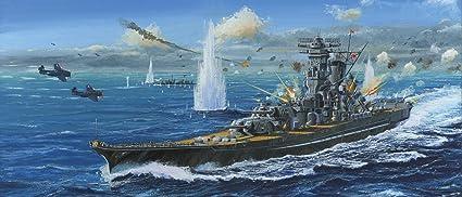 Amazon com: 1/500 IJN Yamato Class Battleship (Plastic model