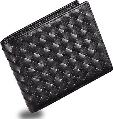 Minimalist Slim Bifold Front Pocket Wallet With Money Clip For Men Effective Rf