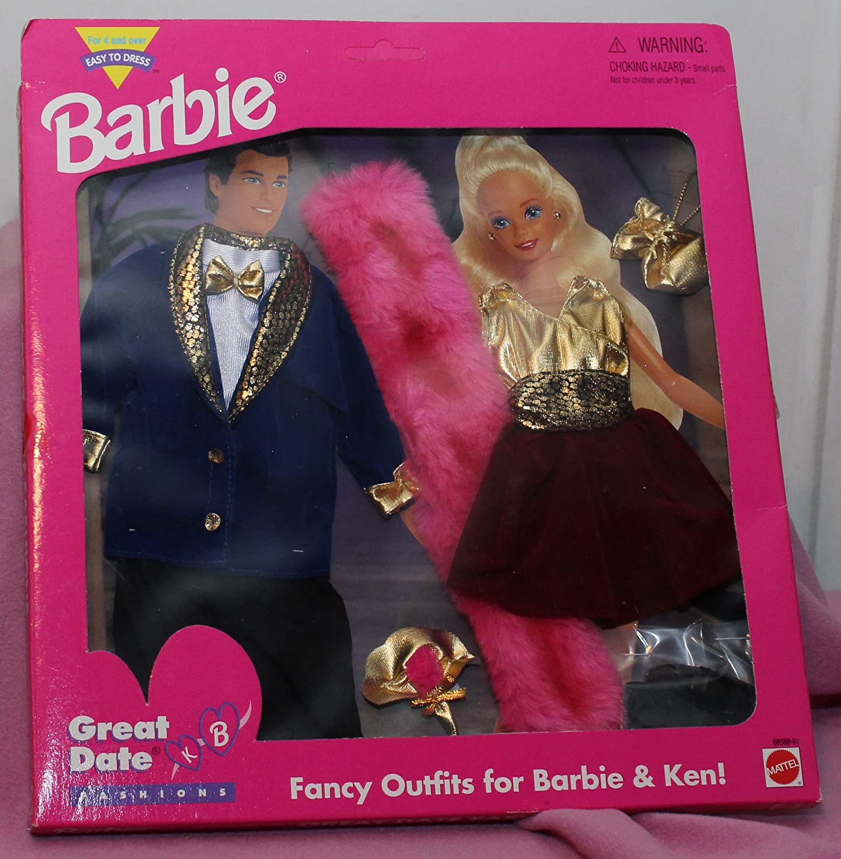Barbie Great Date Fashions: Great Looks for Barbie & Ken by Barbie ...