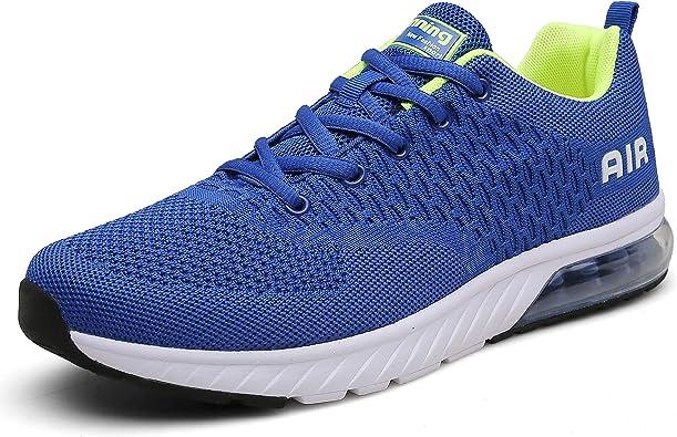 Zapatillas Deportivas de Mujer Running Hombres Gimnasio Aire para Fitness Transpirables Casual Zapatos Gimnasio Correr Sneakers: Amazon.es: Zapatos y complementos