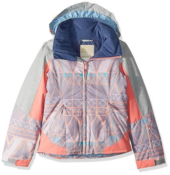 Amazon.com: Roxy Big Girls Sassy Nieve chamarra: Clothing