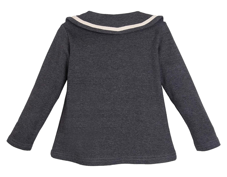 ContiKids Girls/' Peter Pan Collar Polo Shirt Blouse